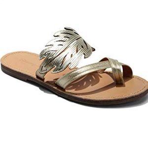 Tommy Bahama Plumeria Gold Sandal